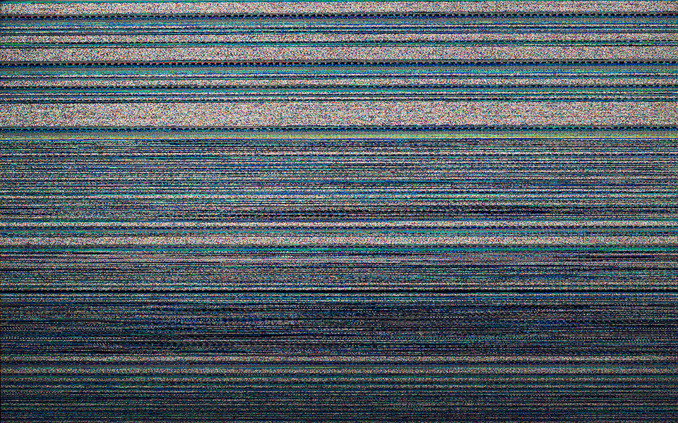 Corrupted screen (result of Tails OS flashing RAM)